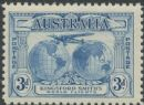 Australia KGV SG122 1931 3d Kingford Smith's World Flights (AGCM/486)